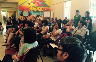 Parents and advocates for English-language learners gathered for a recent summit on Oregon's ELL programs. (Asian Pacific American Network of Oregon)