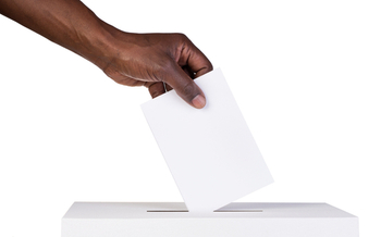 Many African-Americans wait twice as long as whites to vote, a new study shows. (iStockphoto)