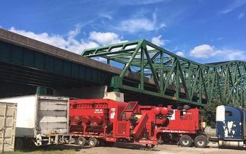 The Florida contractors who won the bid to spot-paint the Yeager Bridge in Charleston confessed to federal fraud on another contract in the state this summer. (Steve White)