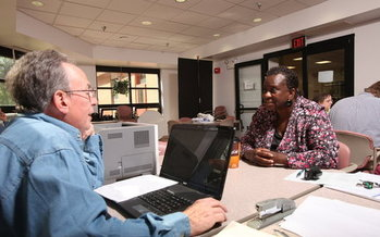 The AARP Foundation's Tax Aide program is one of many volunteer opportunities showcased on the website 'createthegood.org.' (AARP Foundation)