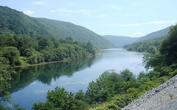 Half the fresh water flowing to Chesapeake Bay comes from the Susquehanna River Basin. (Beyond My Ken/Wikimedia Commons)