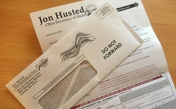 So far, almost 960,000 Ohioans have requested absentee ballots for the November election. (M. Kuhlman)