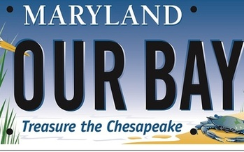 Buying the Bay Plate supports education programs and restoration work benefitting the Chesapeake Bay. (cbtrust.org)