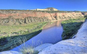 Los miembros del Condado se reducen por un grupo que trabaja en transferir tierras p�blicas �como el �rea Nacional de Conservaci�n �McInns Canyon�� a los estados. (Bureau of Land Management)