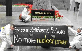 Exelon has six nuclear generating stations in Illinois. (neis.org)