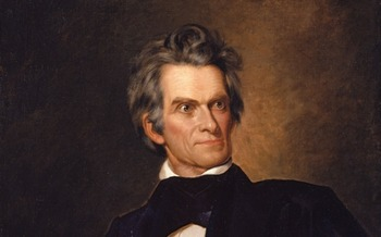 John C. Calhoun (1782-1850) was an ardent defender of slavery. (George Peter Alexander Healy/Wikimedia Commons)