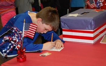 More than 200,000 children in Indiana will cast ballots in a mock election on Election Day. (inbar.org)