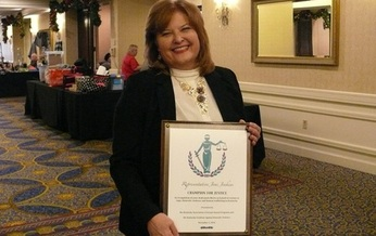 State Rep. Joni Jenkins has received a Champions for Justice Award for her work on behalf of victims of domestic violence and sexual assault. (Greg Stotelmyer)