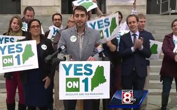 Supporters of Maine's new law legalizing adult possession of marijuana are optimistic it will withstand a threatened recount, and also the incoming Trump administration. (Regulate Maine)