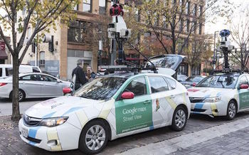 Google Street View cars have mapped gas leaks in pipelines in 11 U.S. cities so far. (Environmental Defense Fund)