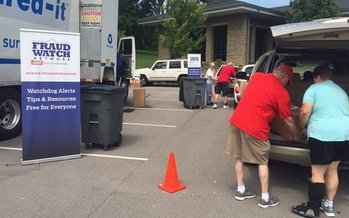This Saturday, AARP Tennessee is offering free document-shredding events across the state. (AARP Tenn.)