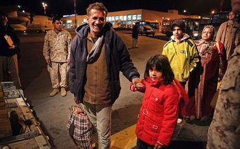 The U.S. vetting process for refugees is the most rigorous in the world. (USMC/Wikimedia Commons)