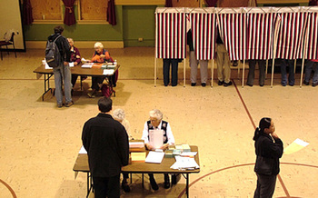 A 2008 poll found that 78 percent of Pennsylvania voters favored a nationwide popular vote for president. (Mark Goebel/Flickr)