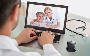 Colorado doctors are bringing old school home visits into the digital age through telehealth. (AndreyPopov/iStockphoto)<br />