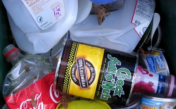 Newspapers, milk jugs, plastic bottles and coffee cans all are acceptable items for the recycle bin.<br />(damoiselle/Morguefile)