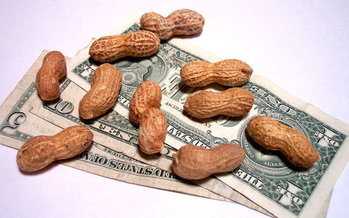 Still working for peanuts? The Fight for $15 movement is set to rally tomorrow with a