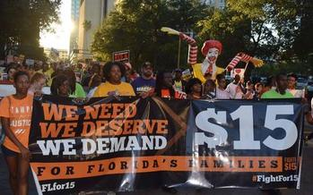 Job actions are planned in Florida and nationwide to commemorate the start of the Fight for $15 movement. (Fight for 15 Florida)