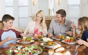 A lot of people will be gathered around the dinner table this holiday season, and political discussions could lead to animosity. (cdc.gov)