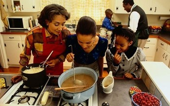 Thanksgiving is a time for large family gatherings and political discussions could easily<br />get heated. (cdc.gov)
