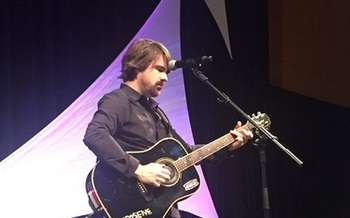 Country singer Jimmy Wayne was a foster child and is trying to encourage more people to become foster parents. (Jimmy Wayne)