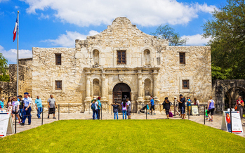 A new report finds that major Texas travel and entertainment destinations, such as the Alamo in San Antonio, could lose billions of dollars if the state passes an anti-LGBT