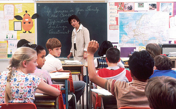 In New York state, 65 percent of school districts have English language learners. (Michael Anderson/Wikimedia Commons)