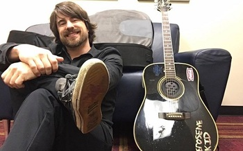 Country singer Jimmy Wayne was taken in as a foster child at 16 and says it changed his life. (Jimmy Wayne)
