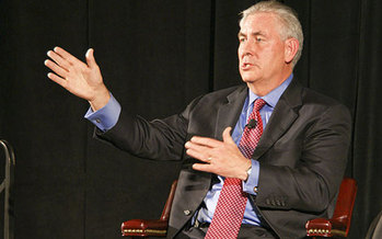 Rex Tillerson, CEO of Exxon Mobil, is Donald Trump's nominee to become U.S. Secretary of State, a pick that's raising concerns in Nevada's conservation community. (Wikimedia Commons)