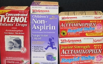 More than 26,000 emergency-room visits a year are the result of acetaminophen overdoses. (V. Carter)