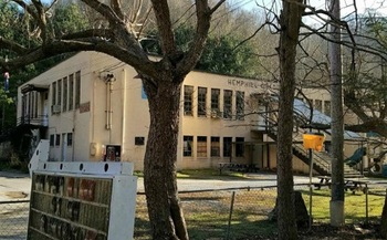 This small-town community center is involved in the Letcher County Culture Hub, an effort in eastern Kentucky to bridge political differences through arts and culture. (Gwen Johnson)