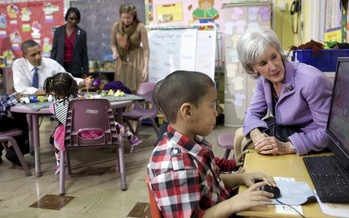 The Obama administration has been a strong proponent of Head Start nationally, but advocates say Virginia should do more to fill in the gaps between local programs. (Whitehouse.gov)