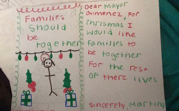 Some children of Florida immigrants have one wish this holiday: to keep their families together. (Lis-Marie Alvarado)