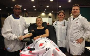 Fewer people donated blood during the holidays and because of bad weather, which  has led to a national blood and platelet shortage. (redcross.org)