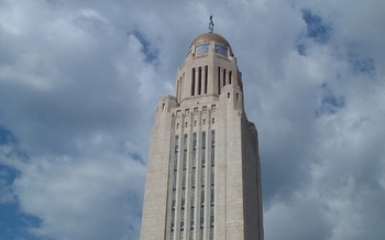 Nebraska's 90-day legislative session is scheduled to run through June 2. (Jim Bowen/Flickr)