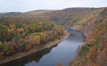 The new alternate PennEast Pipeline route would require two additional Delaware River crossings. (Andy Arthur/Flickr)