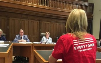 Opponents of a measure to repeal the Granite State's concealed carry gun law say it would put public safety at risk. (Moms Demand Action NH)