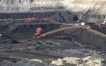 Federal leases account for about 40 percent of coal mined in the United States. (Greg Goebel/Wikimedia Commons)