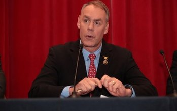Congressman Ryan Zinke, President-elect Donald Trump's pick to run the Interior Dept., testified that he's committed to a balanced and sustainable approach for managing the nation's public lands. (U.S. House of Representatives)