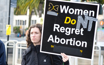 Nebraska was the first state to ban abortions after 20 weeks of pregnancy. (Dave Fayran/Flickr)