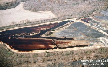 A new report details the impact coal mining has on the country in terms of greenhouse gas emissions. (in.gov)