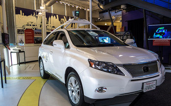 Self-driving cars still are in their testing phase but one day could improve the lives of people with disabilities. (Don DeBold/Flickr)