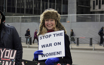 Iowa women will march for equity, justice and more on Saturday � some locally, and others in Washington, D.C. (Timothy Krause/Flickr)