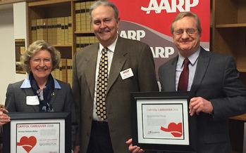 Two Washington state lawmakers, Sen. Barbara Bailey and Rep. Steve Tharinger, have been recognized for their work supporting caregivers. (AARP)