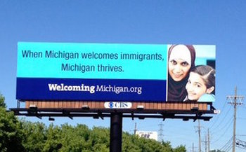 Many immigrants in Michigan are confused and fearful in the wake of President Trump's order. (Welcoming Michigan)