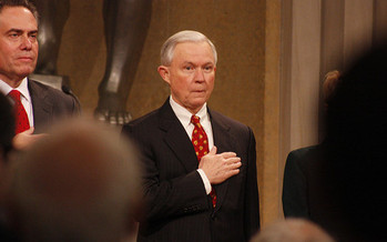 Alabama Sen. Jeff Sessions hasn't testified since Jan. 10, long after President Trump's recent actions around immigration policies. (Ryan J. Reilly/Flickr)