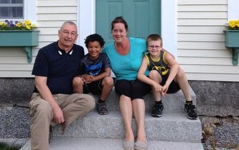 Chris and Bonnie Wade are among the more than 8,000 New Hampshire grandparents raising their grandkids, and they're looking for help from state lawmakers. (Courtesy of Wade Family)