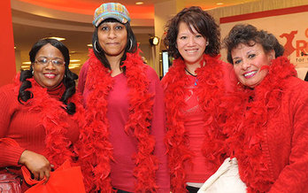 Wear Red Day promotes heart health and encourages Americans to take charge of their health. (goredforwomen)