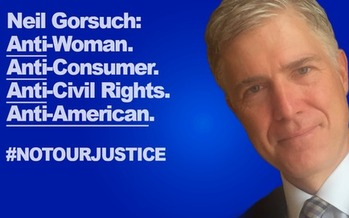 Progressive groups are holding vigils tonight to protest President Trump's decisions, including the nomination of Neil Gorsuch to the U.S. Supreme Court. (Battle Born Progress)