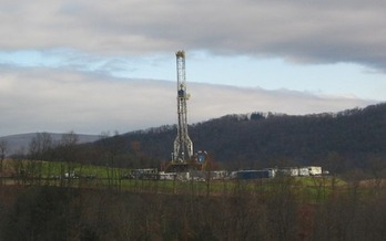 DEP estimates the natural gas industry emitted 115,000 tons of methane in Pennsylvania in 2014.  (Ruhrfisch/Wikimedia Commons)