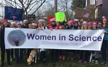 A letter to President Donald Trump asks that he promote science education, and champion policies that allow more women to pursue scientific careers. (500womenscientists)